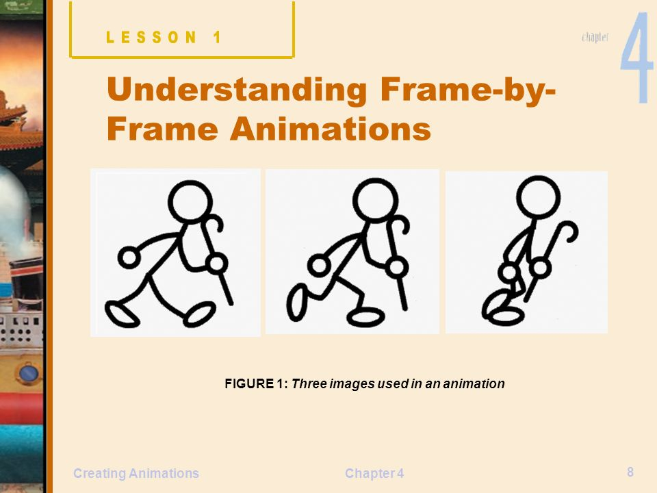 Chapter Lessons Create frame-by-frame animations - ppt video online ...
