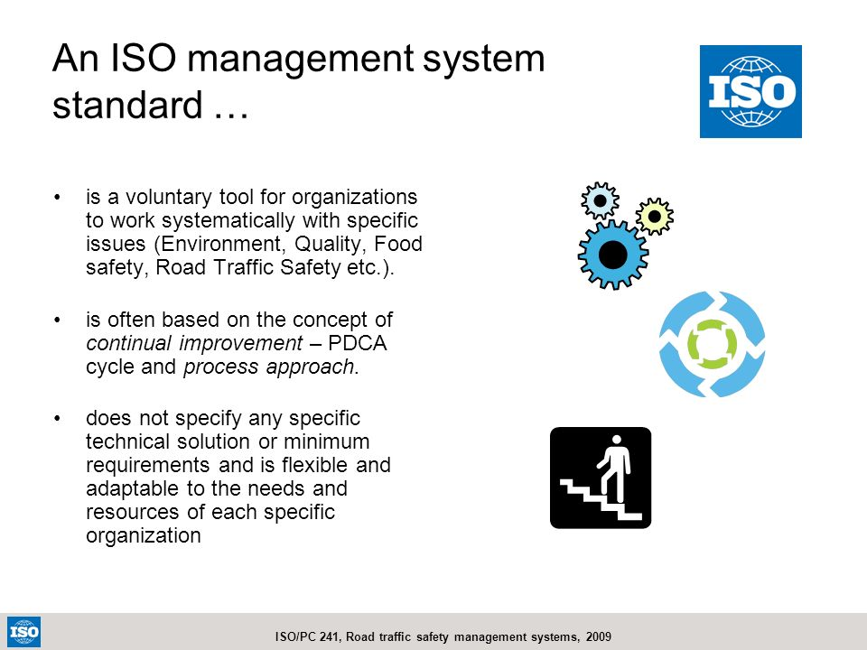 An ISO management system standard …