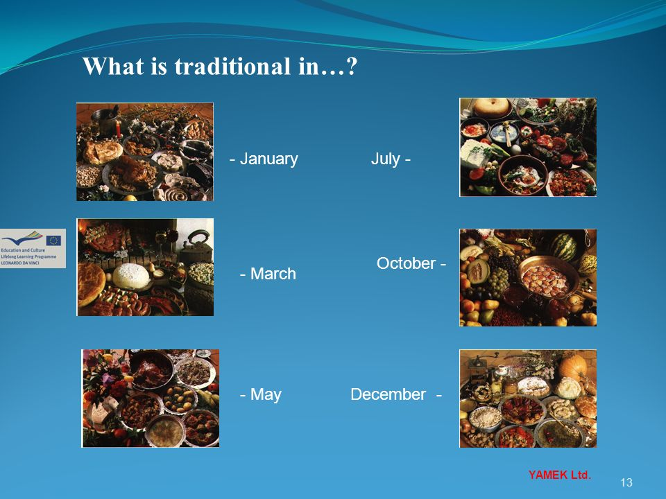 What is traditional in…
