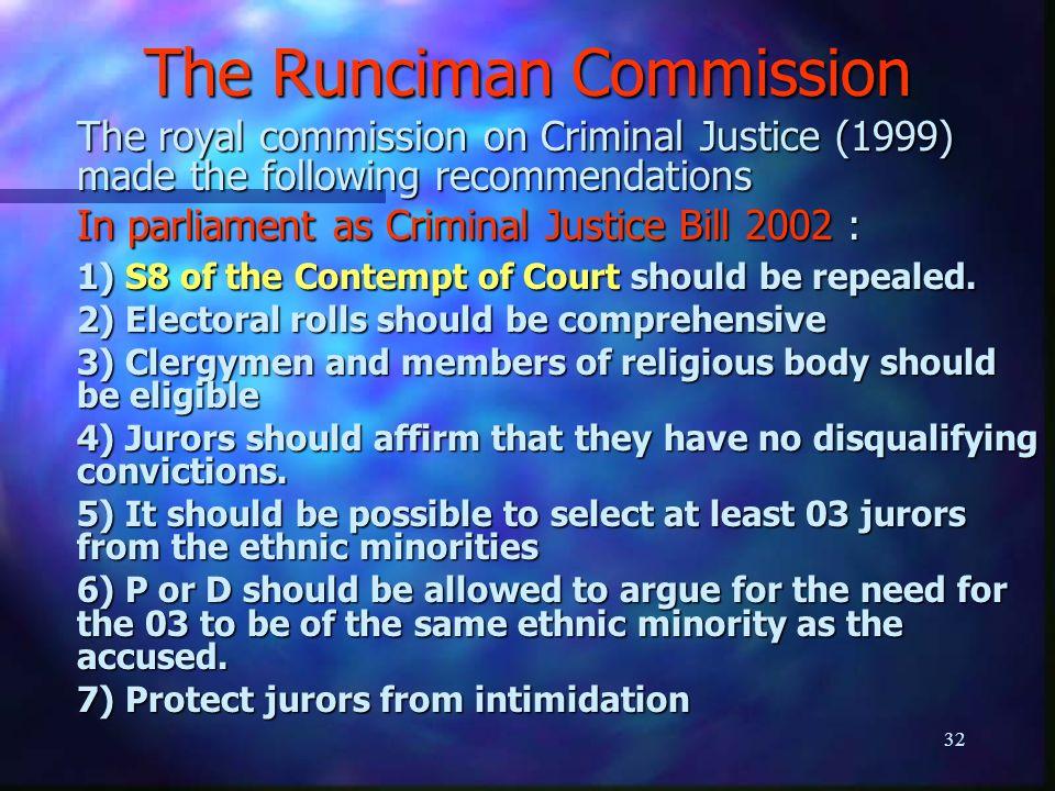 runciman commission