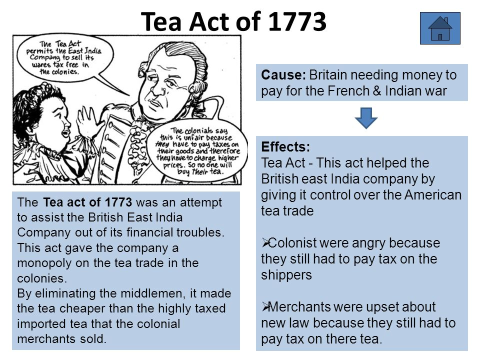 causes and effects of french and indian war chart