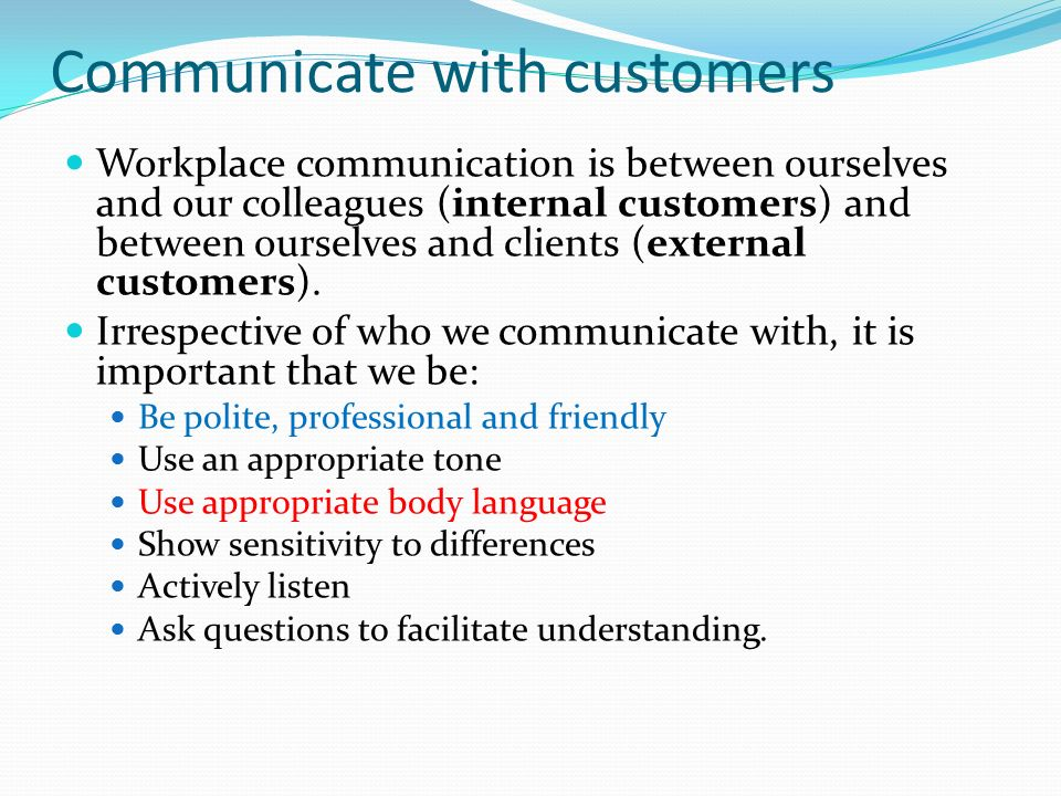 Work with colleagues and customers - ppt video online download