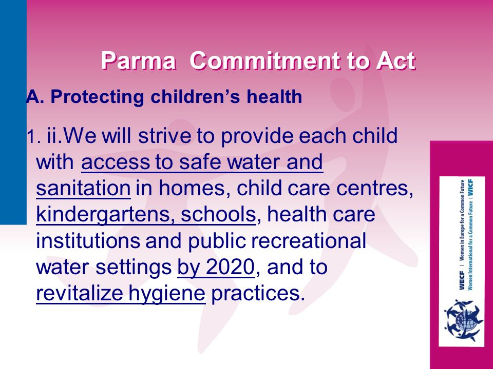 Parma Commitment to Act