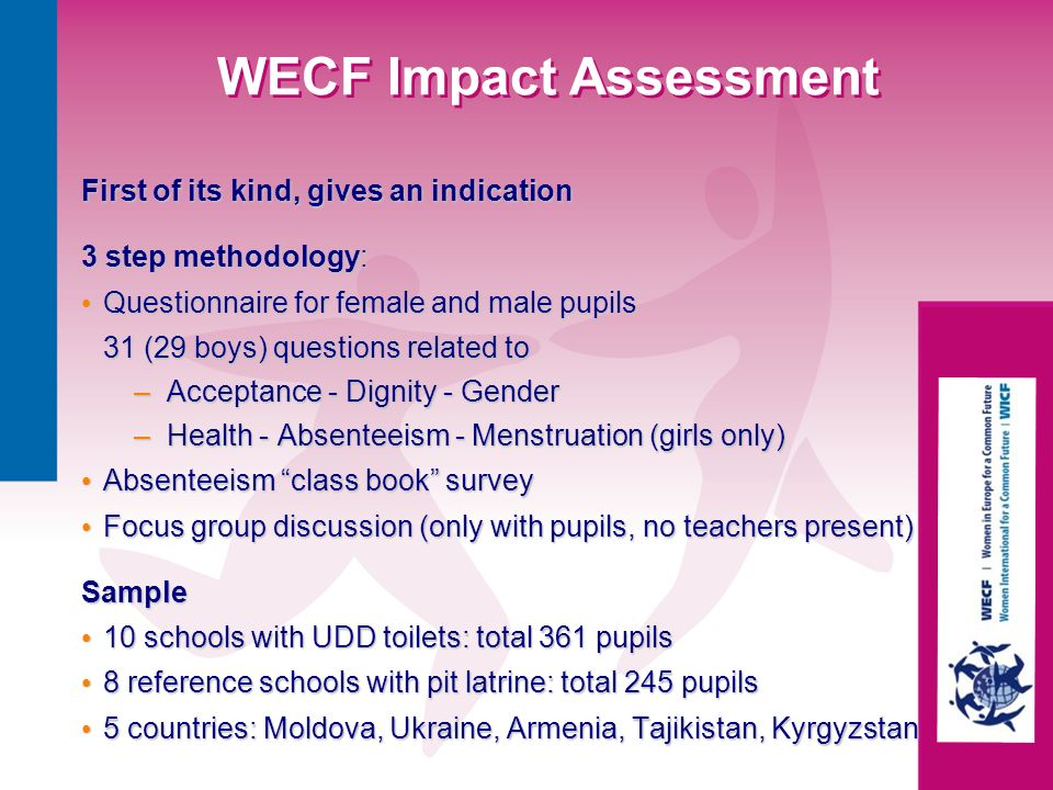 WECF Impact Assessment