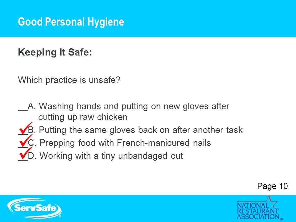 ServSafe® Food Handler Course Presentation