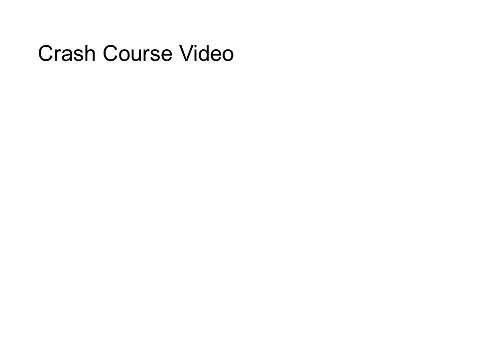 Crash Course Video