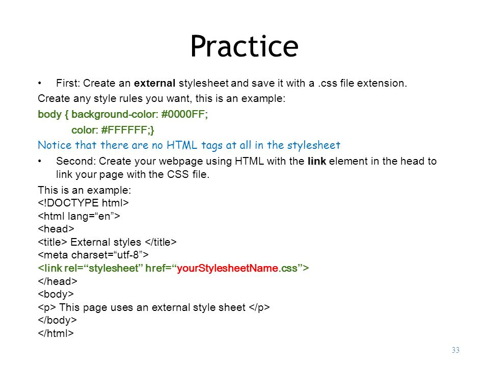 Inline css explained: learn how to link css to html easily.