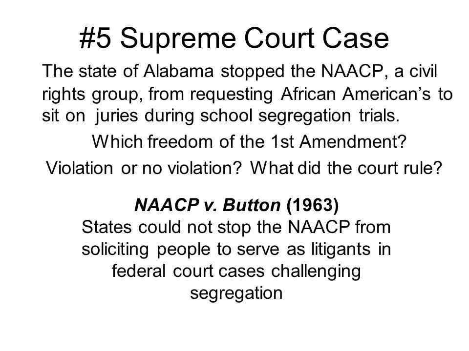 5 Supreme Court Case