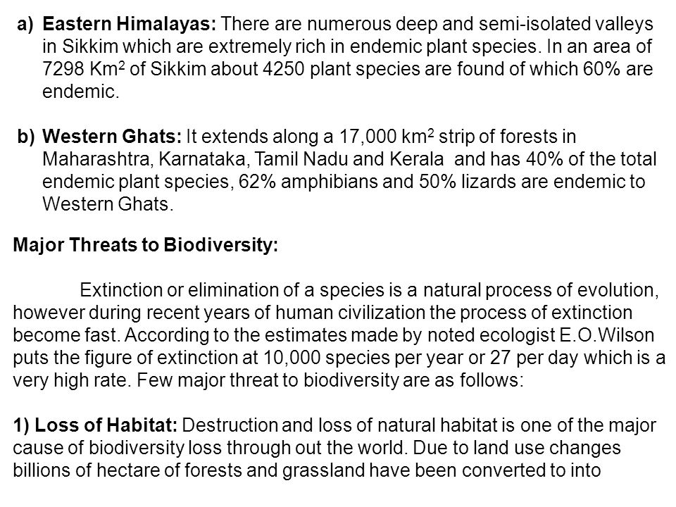 Biodiversity And Its Conservation Ppt Video Online Download