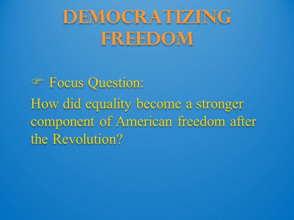 Chapter 6 Chapter 6 The Revolution Within Ppt Download