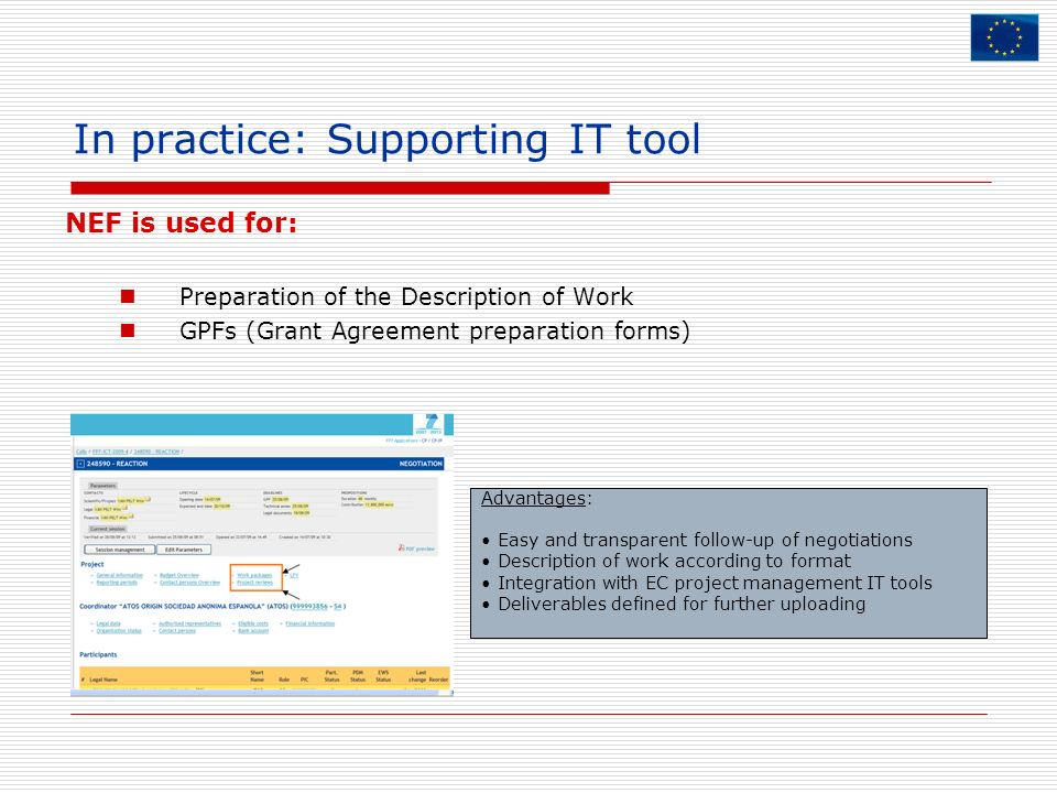 In practice: Supporting IT tool
