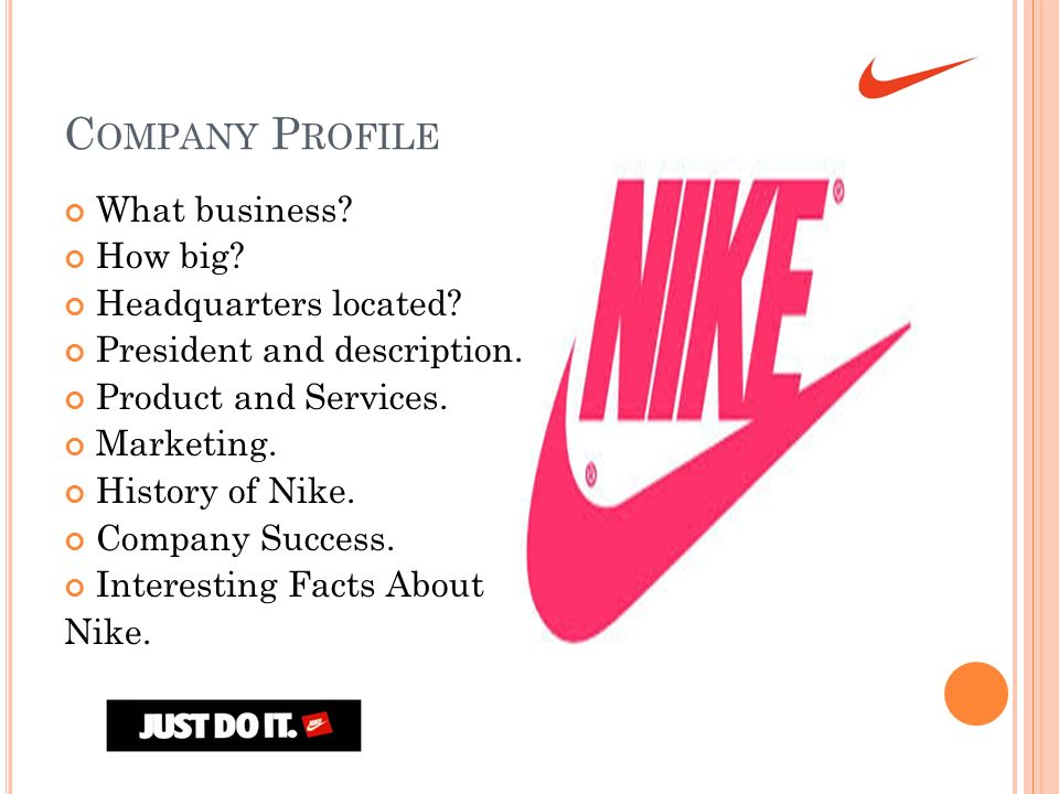 about nike company history