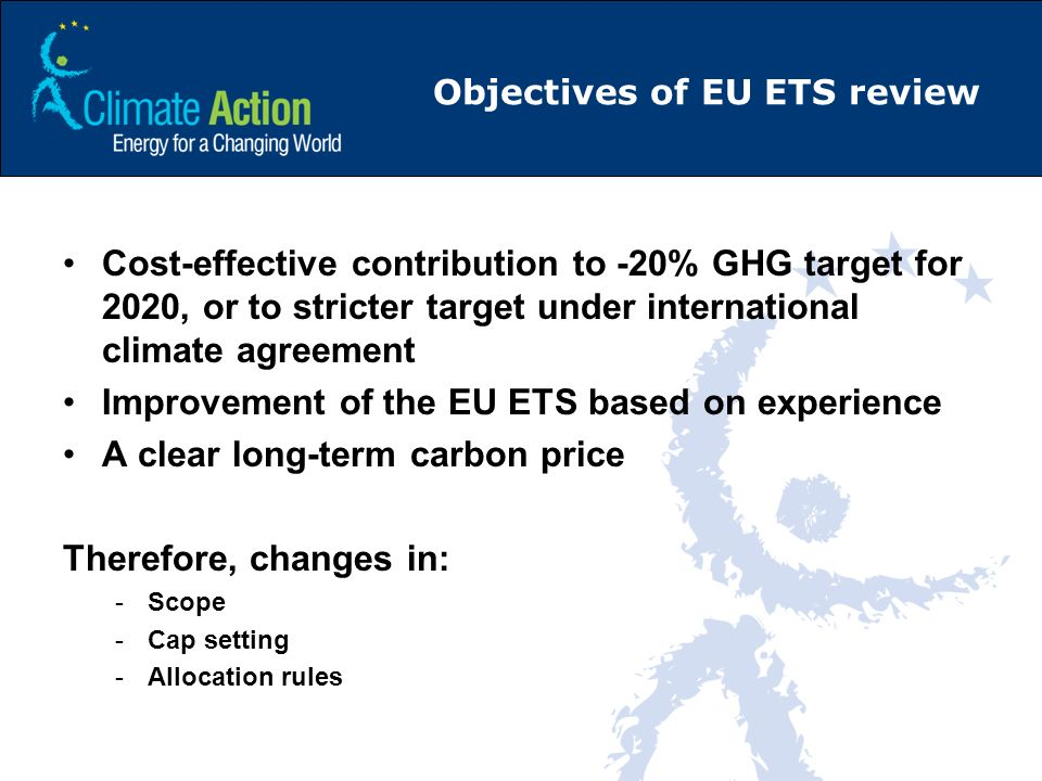 Objectives of EU ETS review