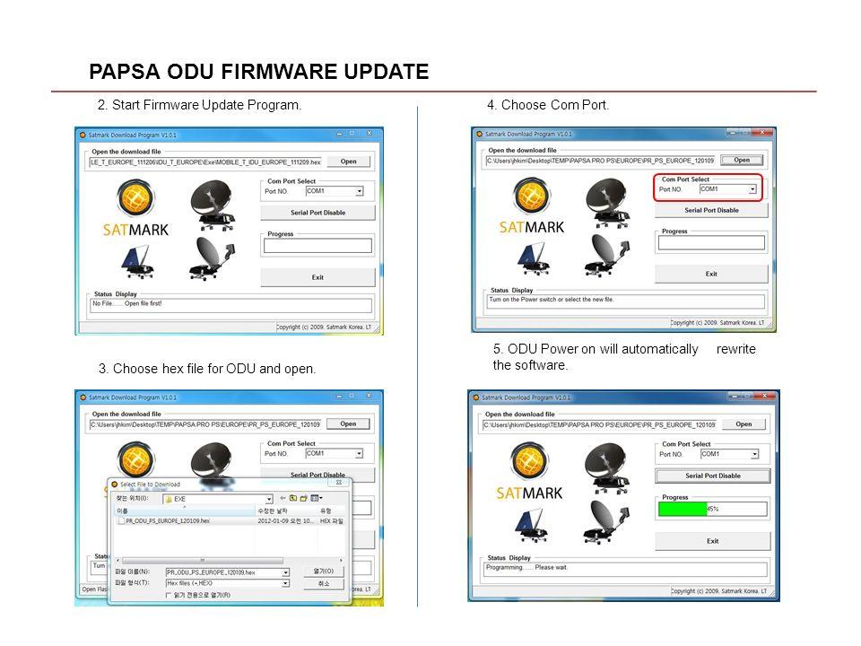 PAPSA ODU FIRMWARE UPDATE - ppt video online download