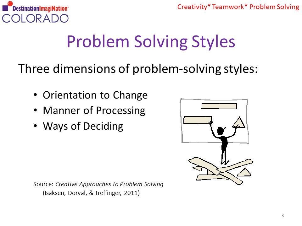 problem solving styles