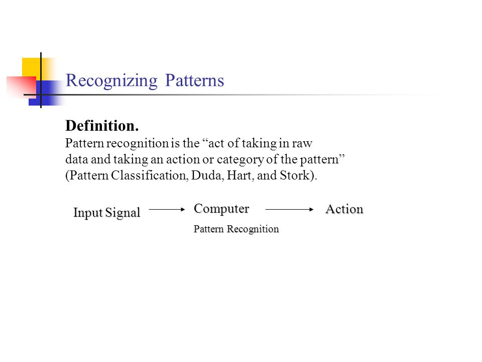 Perception Introduction Pattern Recognition Image Formation Ppt Interesting Patterns Definition