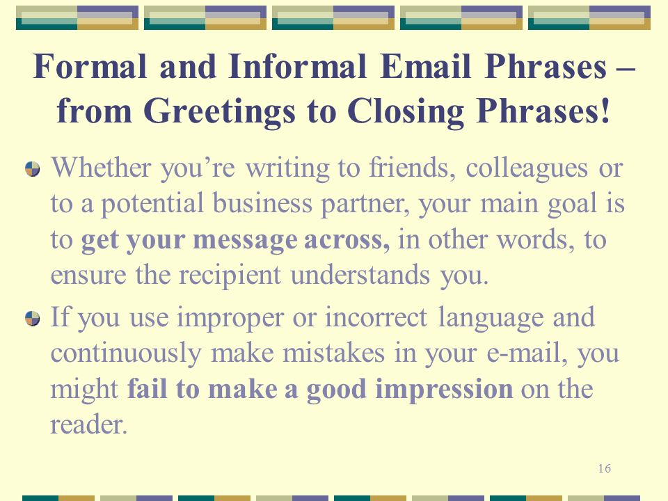 Writing ppt video online download 16 formal and informal email phrases from greetings m4hsunfo