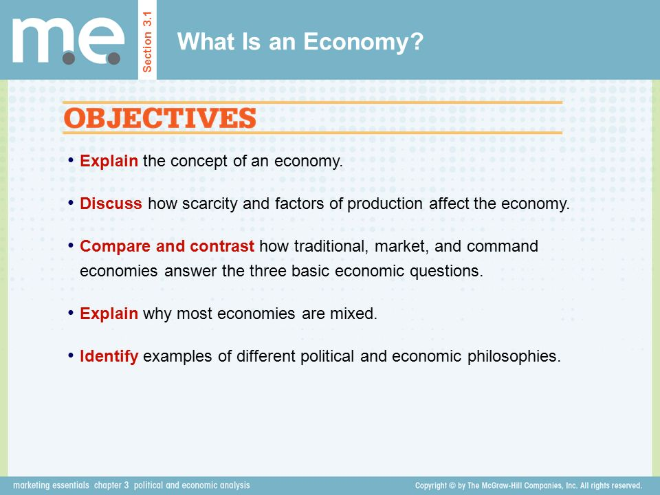 Chapter 3 Political And Economic Analysis Section Ppt Video Online