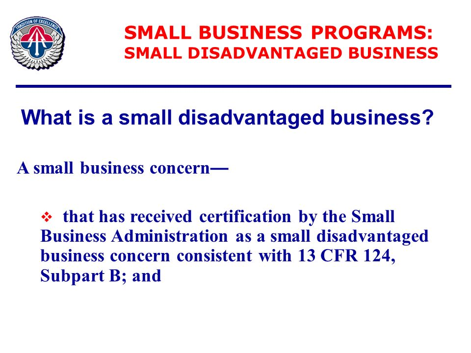 Office Of Small Business Programs Ppt Download