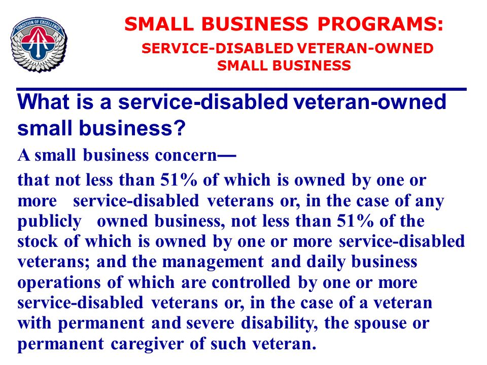 OFFICE OF SMALL BUSINESS PROGRAMS - ppt download