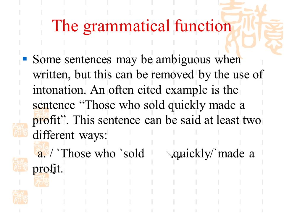Unit 15 Functions Uses Of English Intonation Ppt Video Online