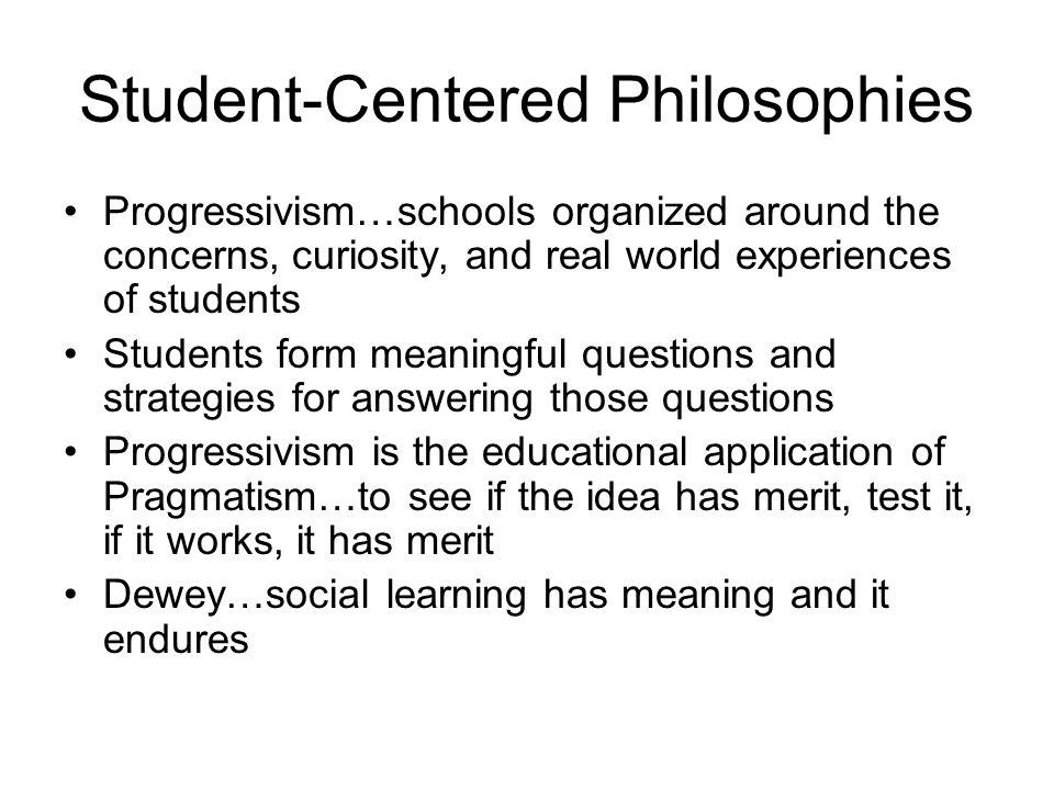 progressivism teaching philosophy