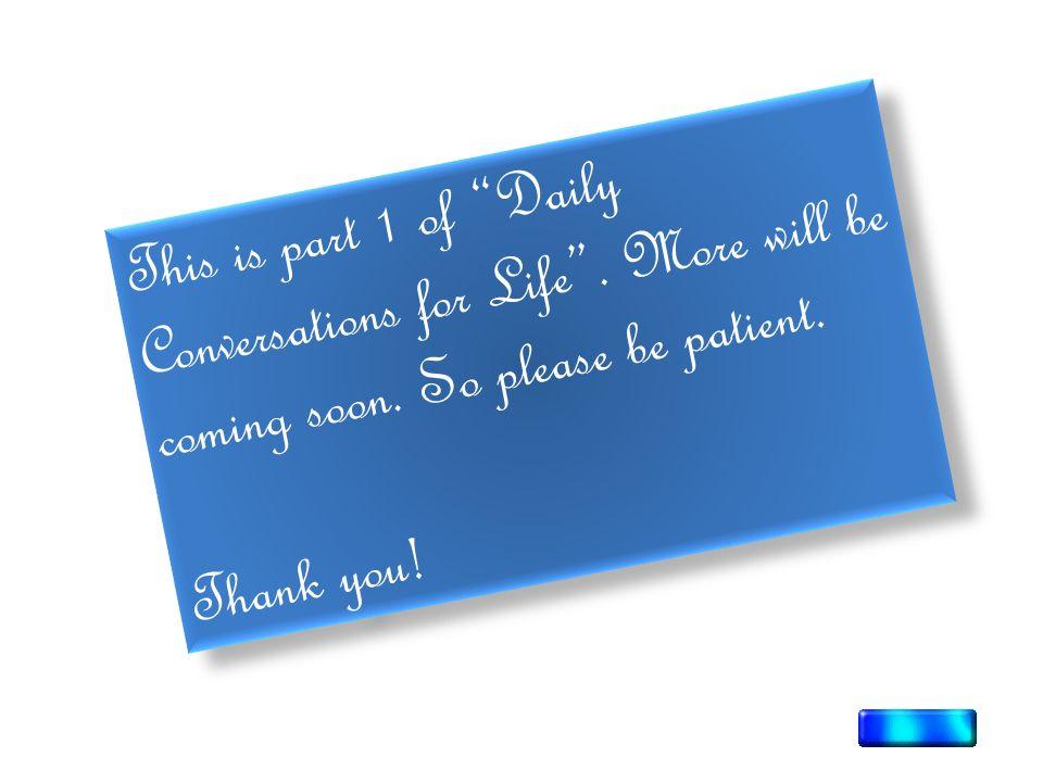 daily life english conversation pdf