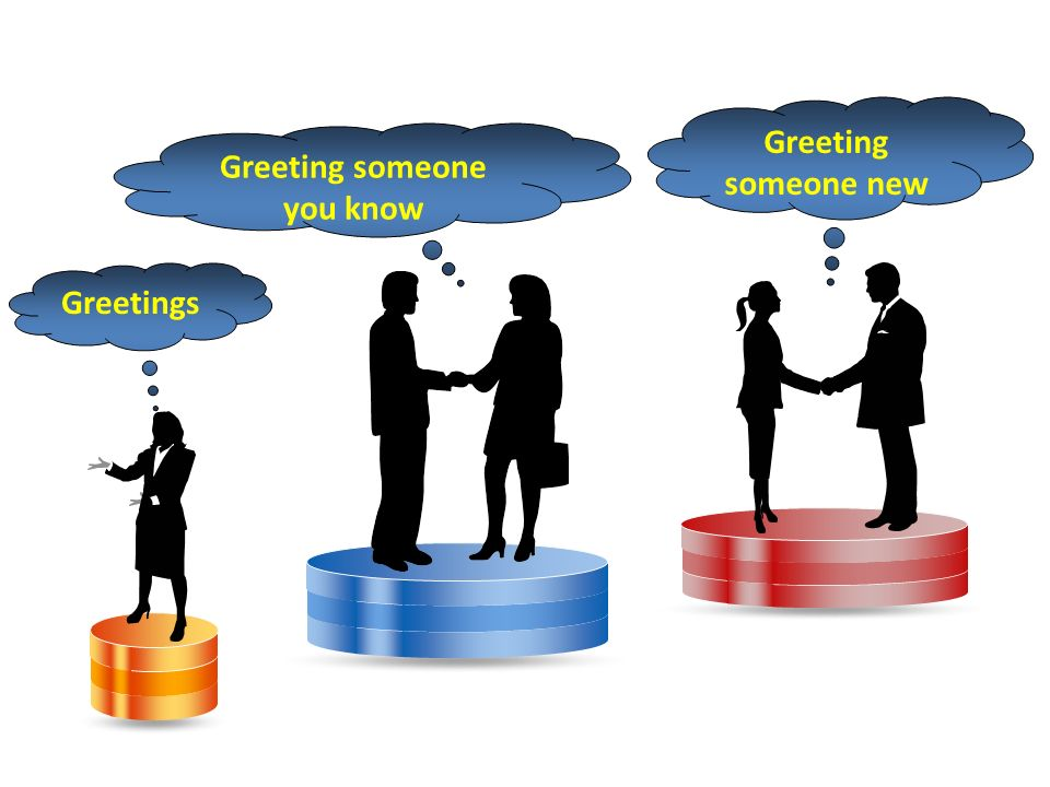 Everyday english conversations ppt video online download greeting someone you know m4hsunfo