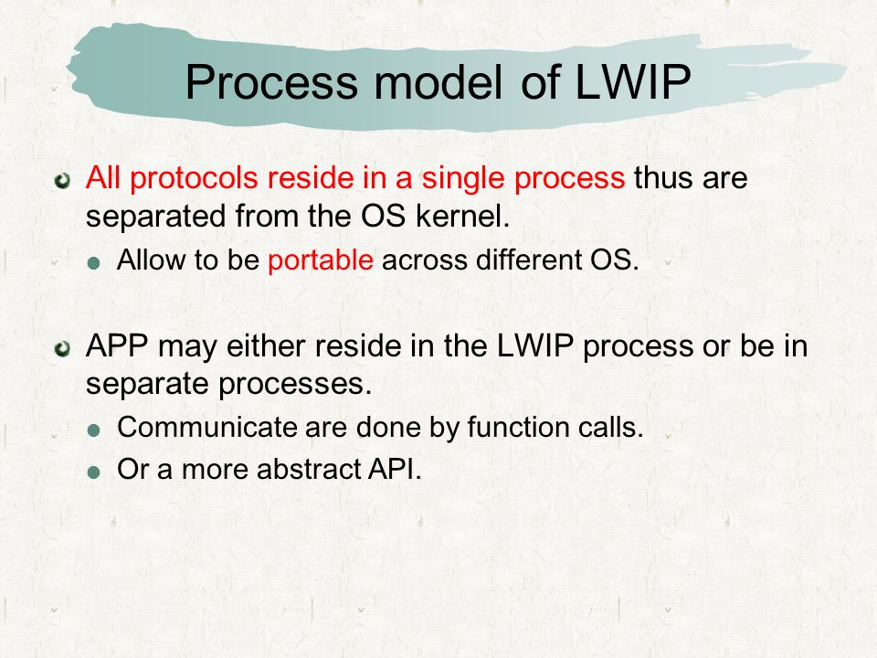 LWIP TCP/IP Stack 김백규  - ppt video online download