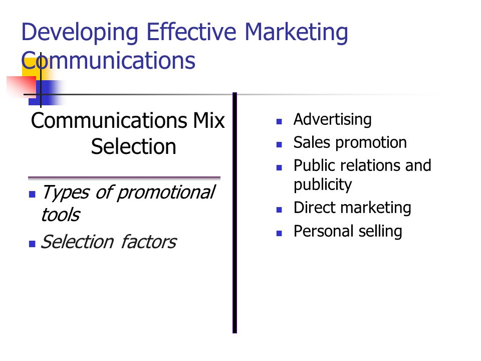 Chapter 16 designing and managing integrated marketing developing effective marketing communications fandeluxe Images