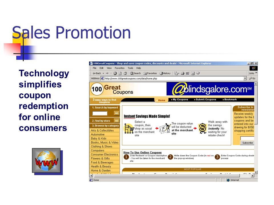 Chapter 16 designing and managing integrated marketing 34 sales promotion technology simplifies coupon redemption for online consumers fandeluxe Images