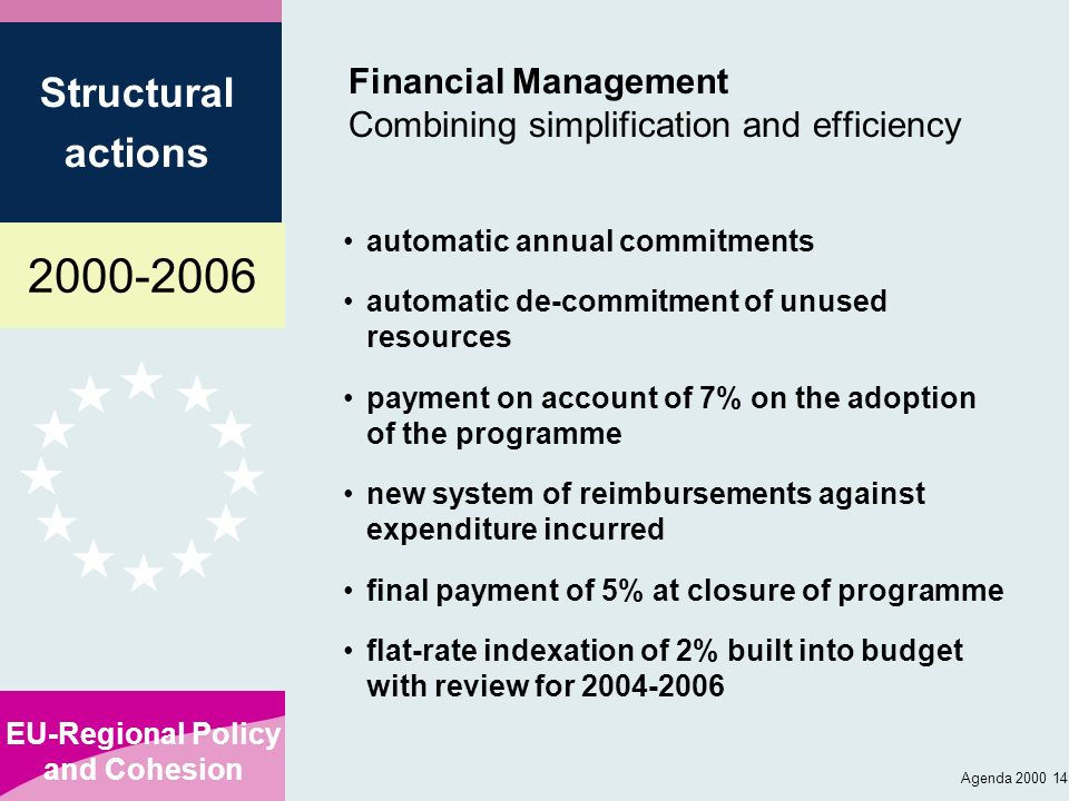 Financial Management Combining simplification and efficiency