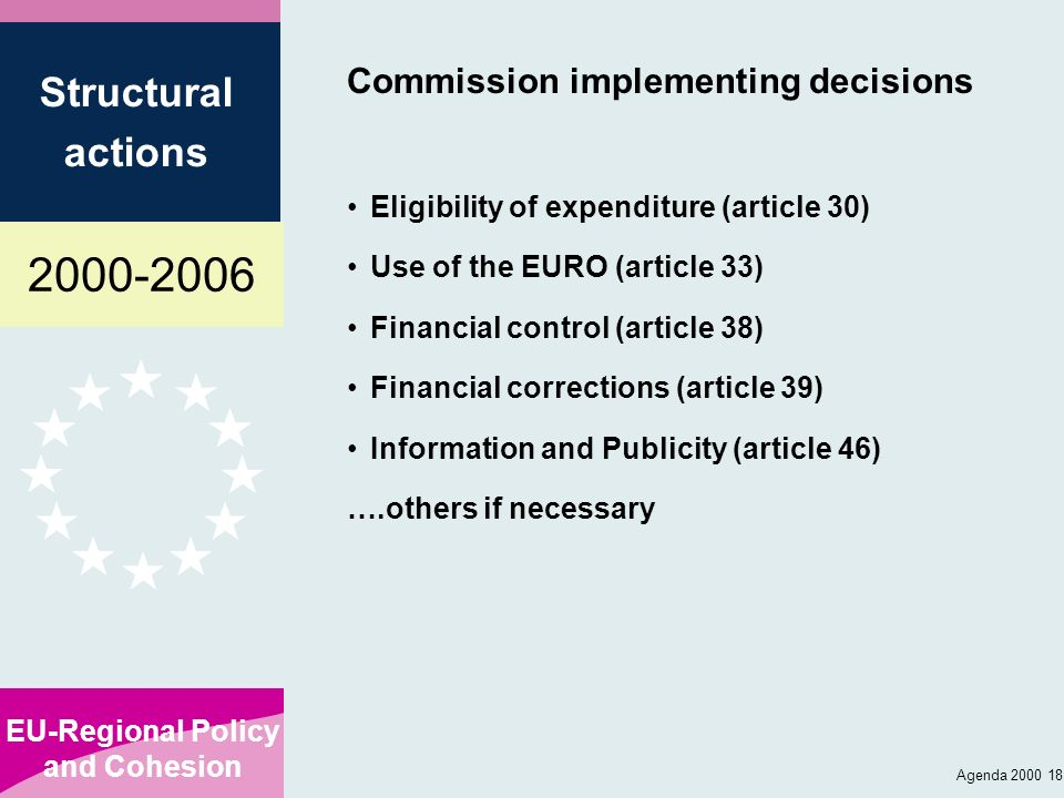 Commission implementing decisions