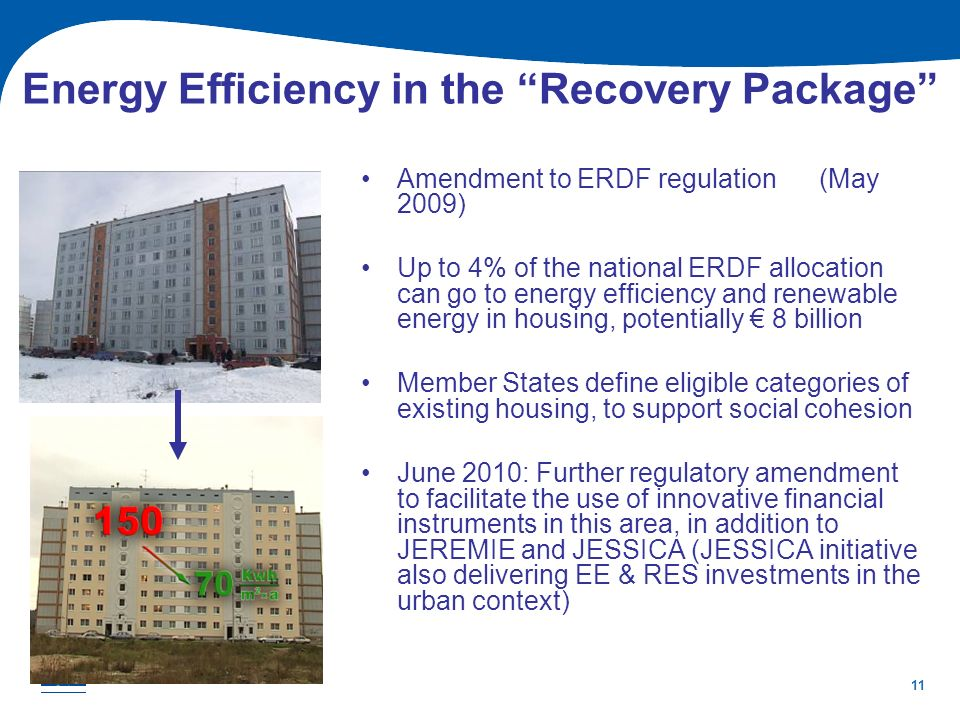 Energy Efficiency in the Recovery Package