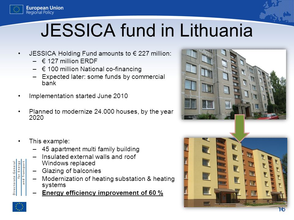 JESSICA fund in Lithuania