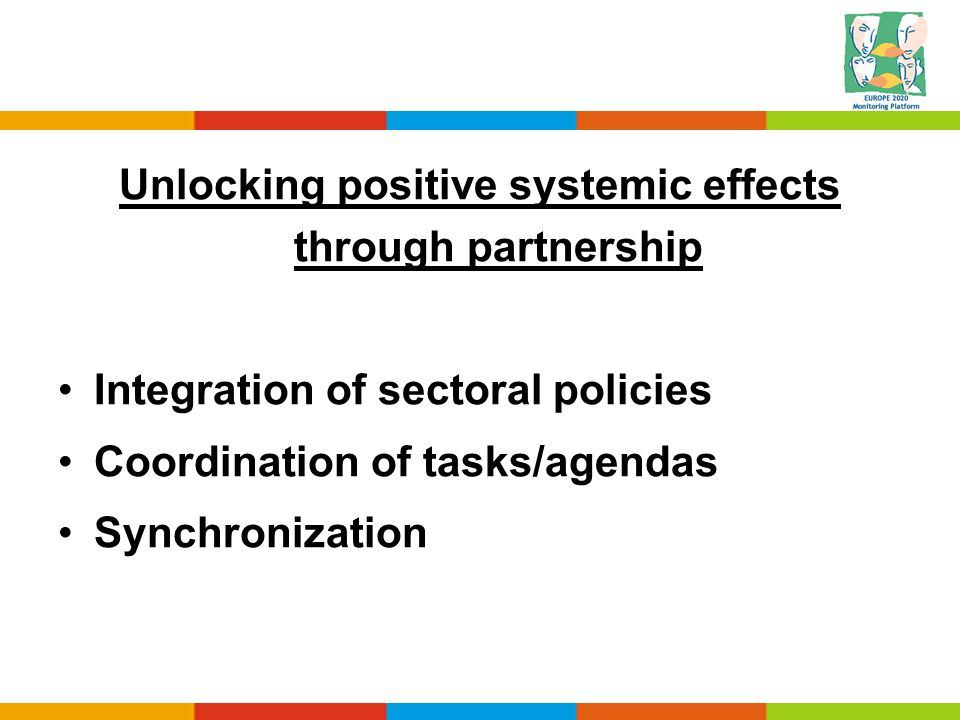 Unlocking positive systemic effects through partnership