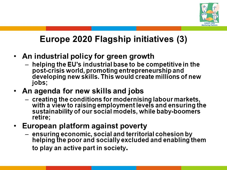Europe 2020 Flagship initiatives (3)