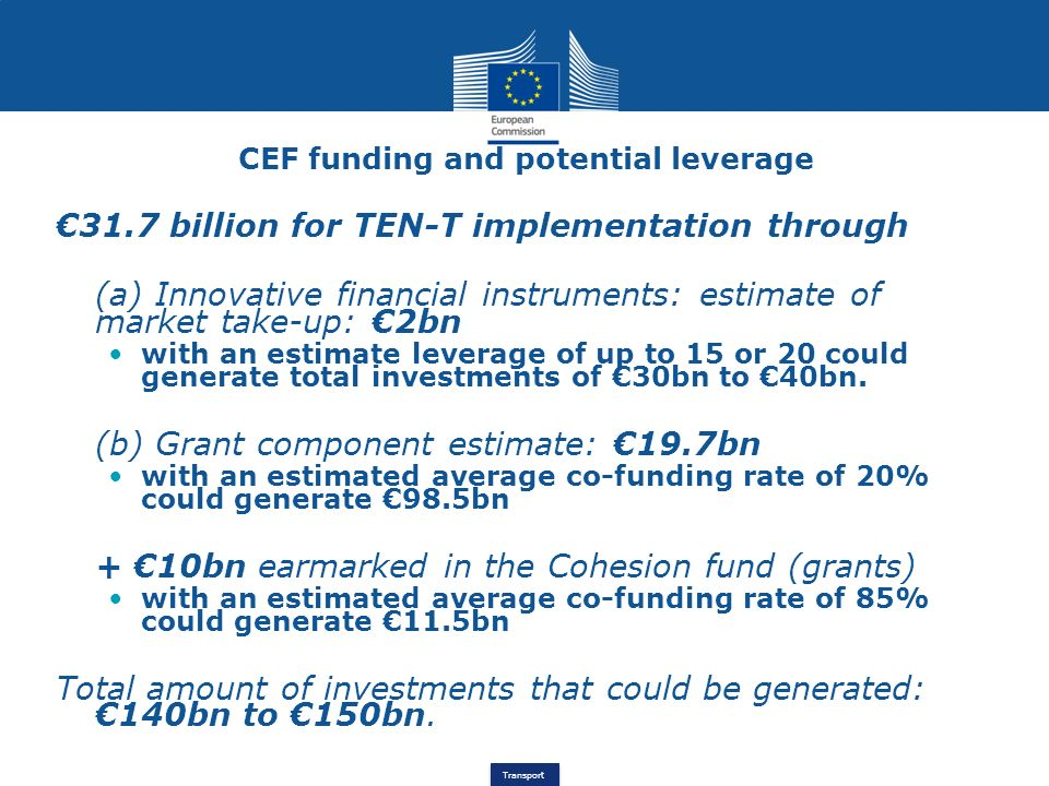 CEF funding and potential leverage