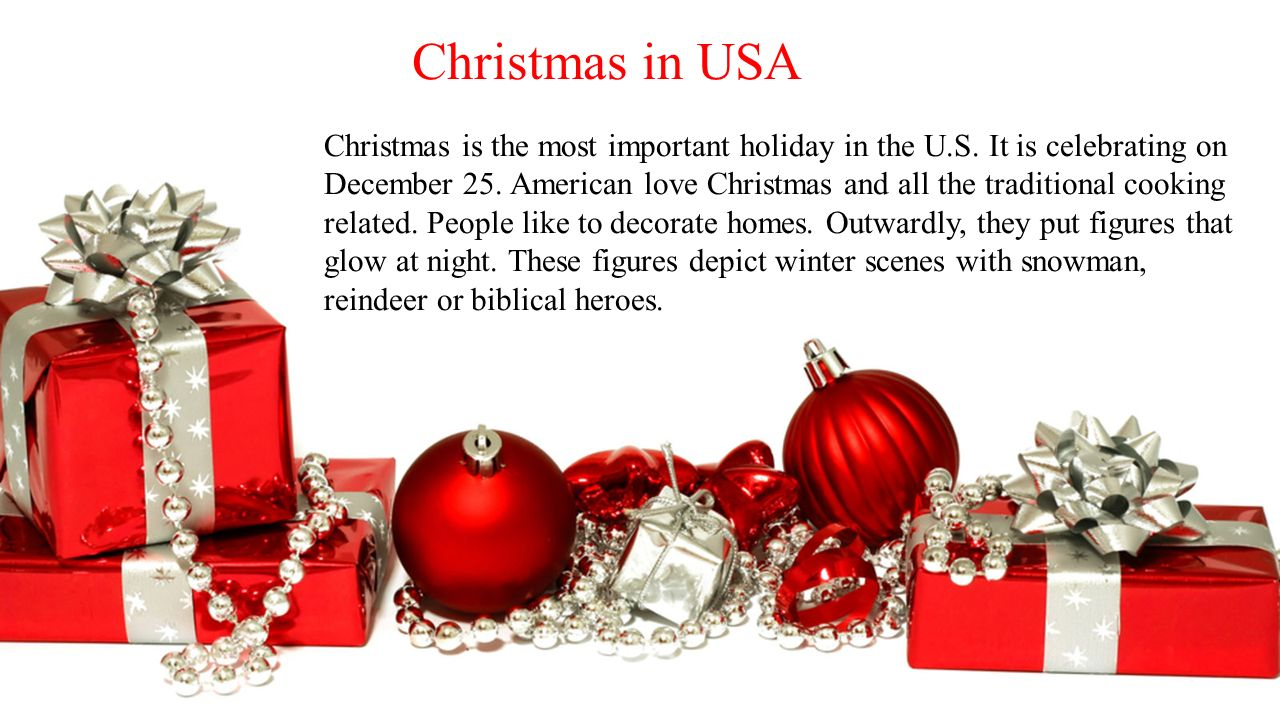 Christmas in Ukraine, England and USA - ppt download