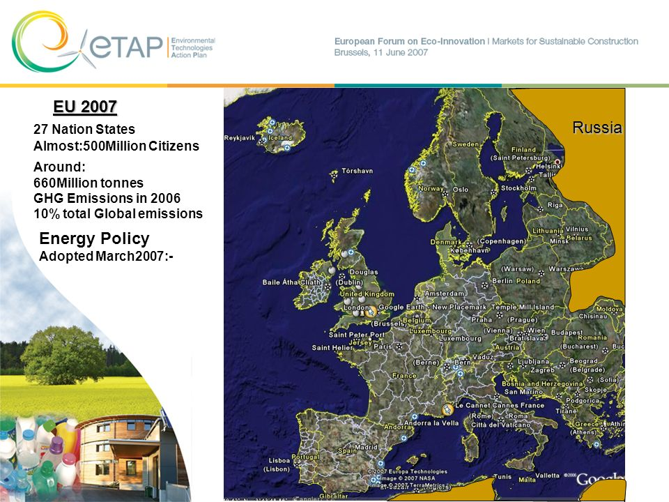 EU 2007 Russia Energy Policy 27 Nation States
