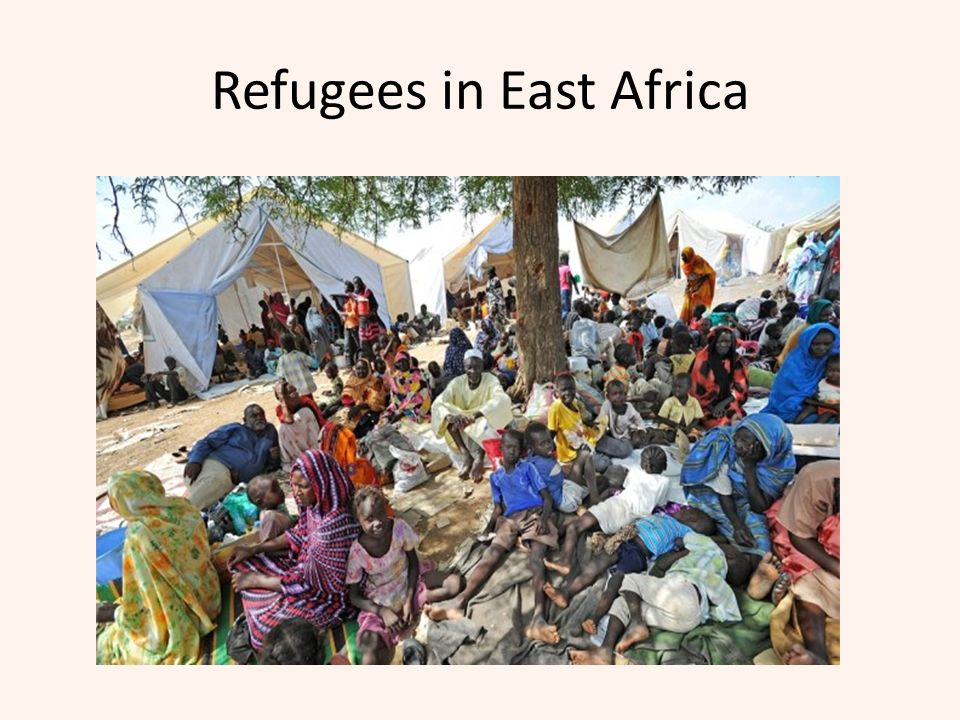 Refugees in East Africa