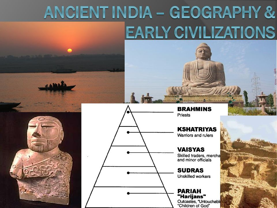 Ancient India – Geography & Early Civilizations