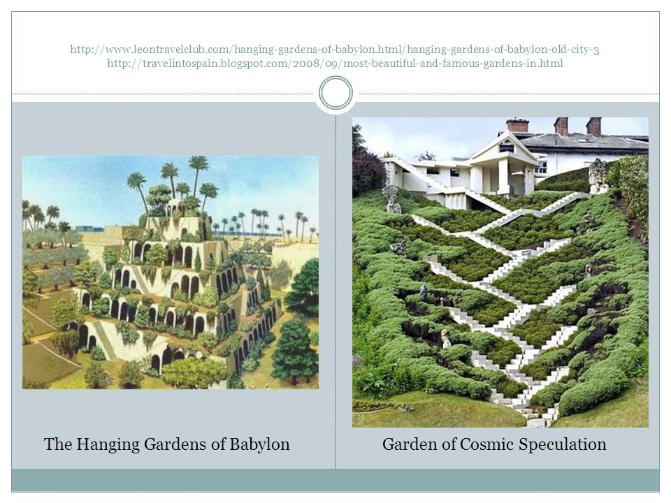 The hanging gardens of babylon ppt video online download for Hanging gardens of babylon definition