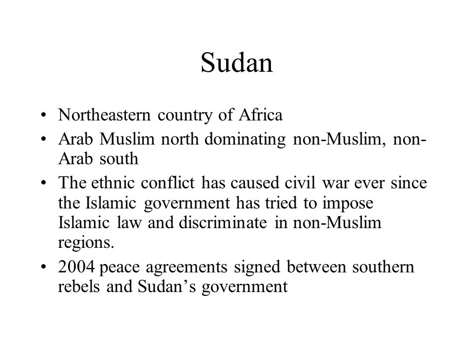 Sudan Northeastern country of Africa