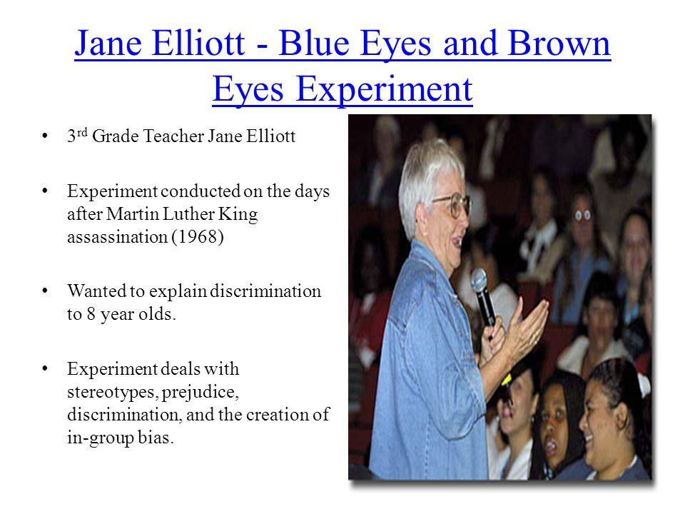 Jane Elliott's Blue-Eyes / Brown-Eyes: An Exercise in Racism