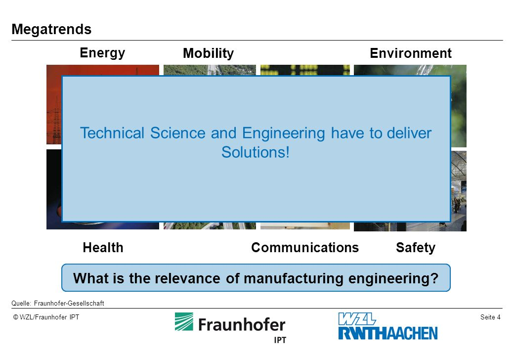 What is the relevance of manufacturing engineering