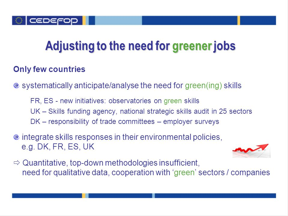 Adjusting to the need for greener jobs