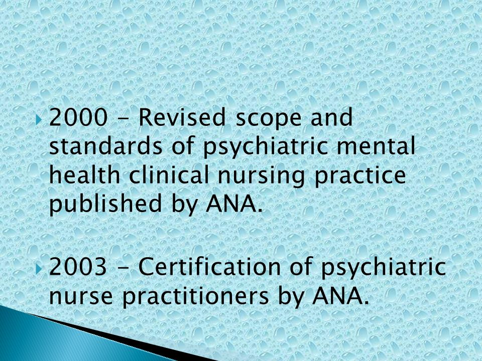 Early History And Evolution Of Psychiatric Nursing Ppt Video