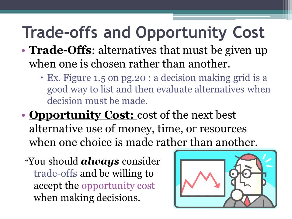 why is opportunity cost important in decision making