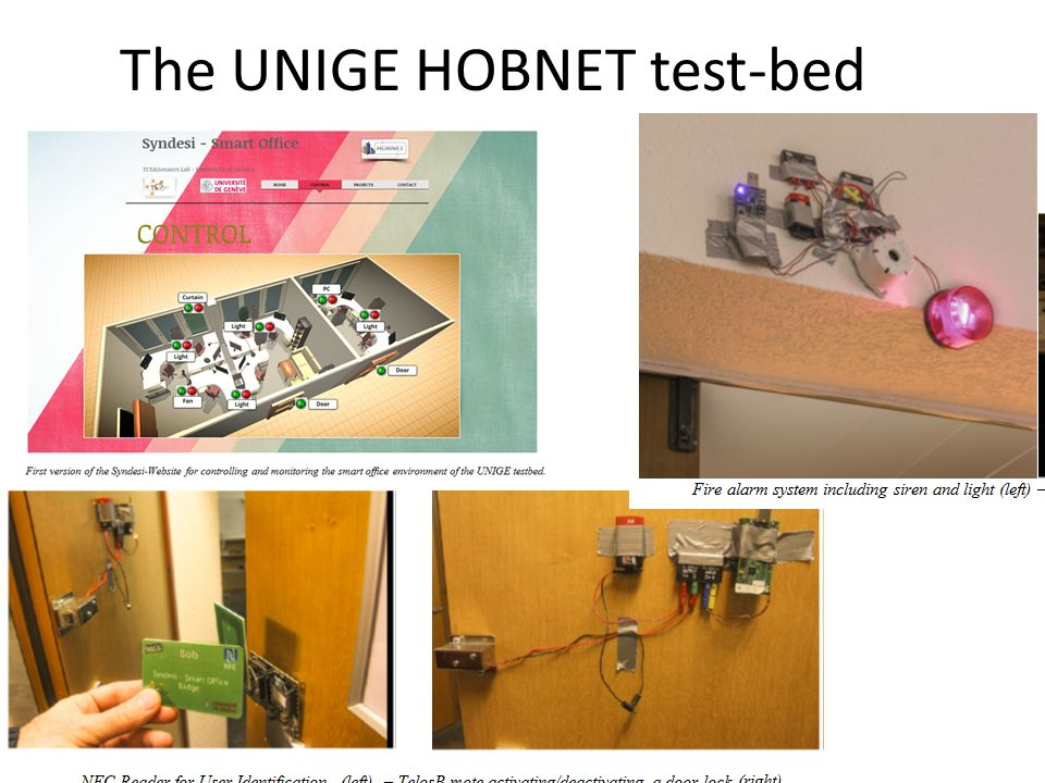 The UNIGE HOBNET test-bed